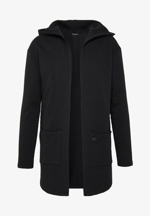 GORDON - Zip-up hoodie - black