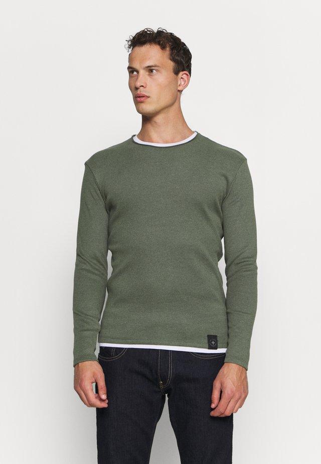 SARASOTA ROUND - Stickad tröja - olive