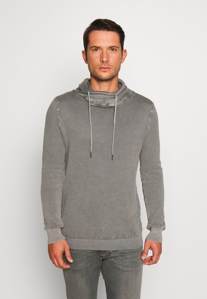 Key Largo - MST LECH TUBE - Sweter - grey
