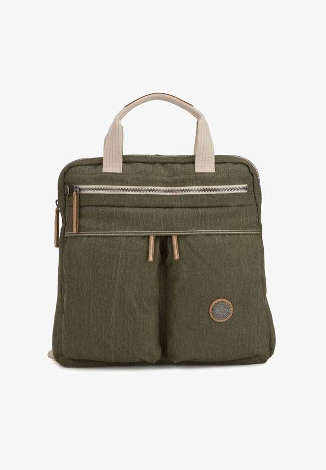 EDGELAND EYES WIDE OPEN KOMORI - Rucksack - urban khaki