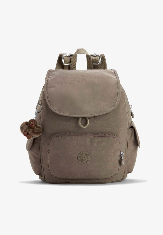 BASIC EYES WIDE OPEN CITY - Rucksack - true beige