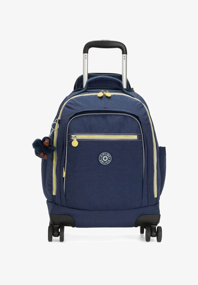 Wheeled suitcase - blue thunder