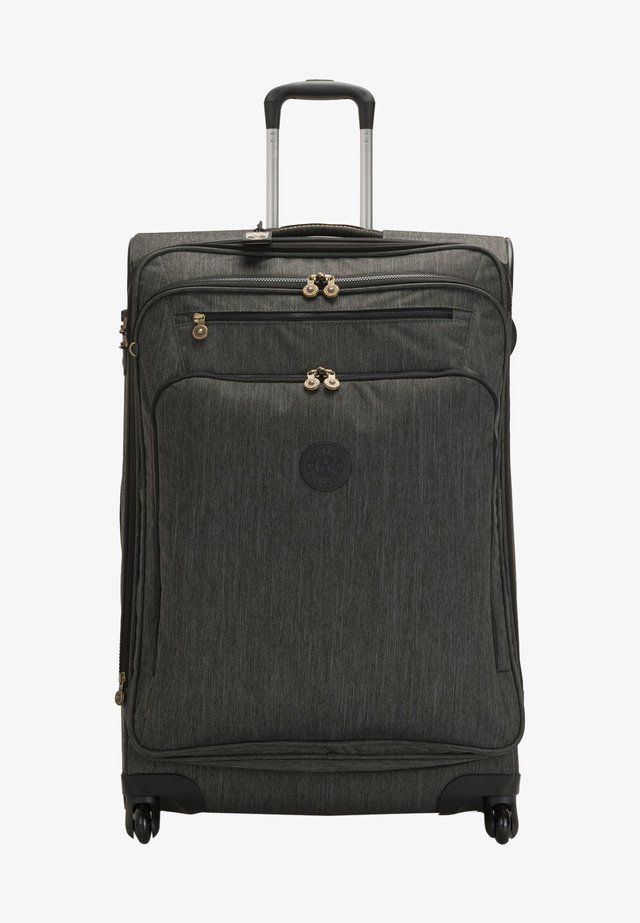 Wheeled suitcase - black indigo