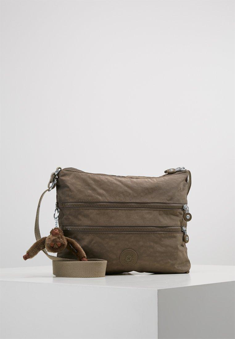 Kipling - ALVAR - Taška spříčným popruhem - beige