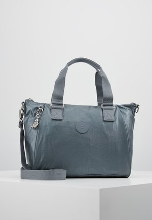 AMIEL - Handbag - steel grey metal