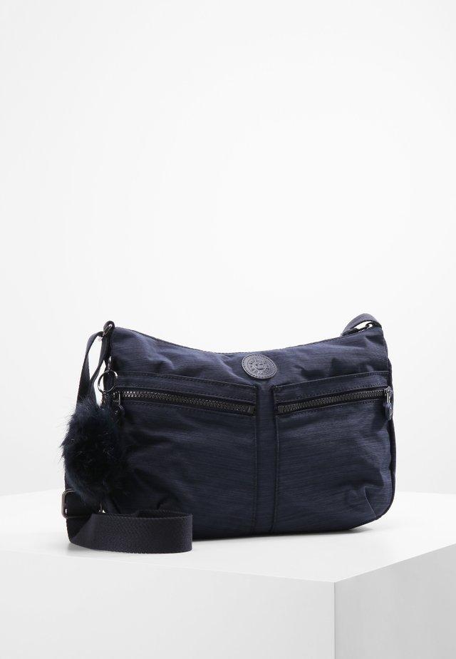 IZELLAH - Axelremsväska - blau/blau