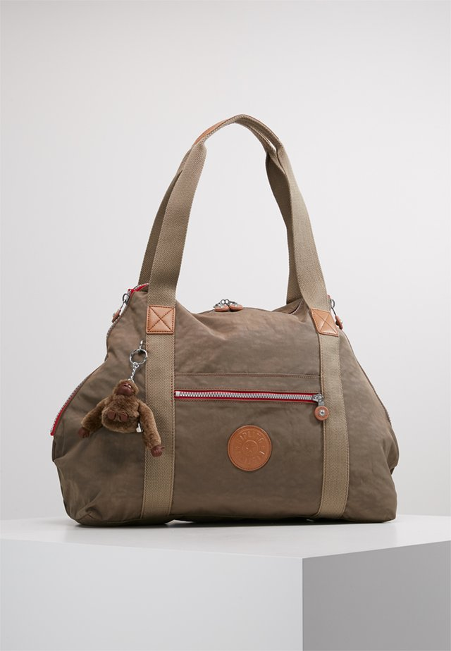 ART M - Shopping Bag - khaki