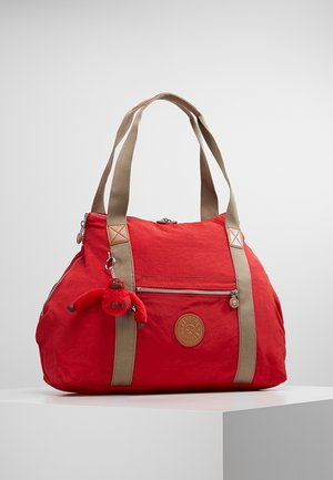 Shopping bag - true red