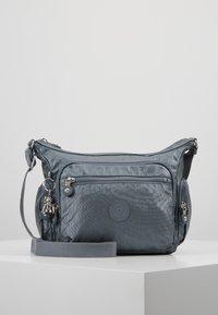 Kipling - GABBIE S - Across body bag - steel grey metal - 0