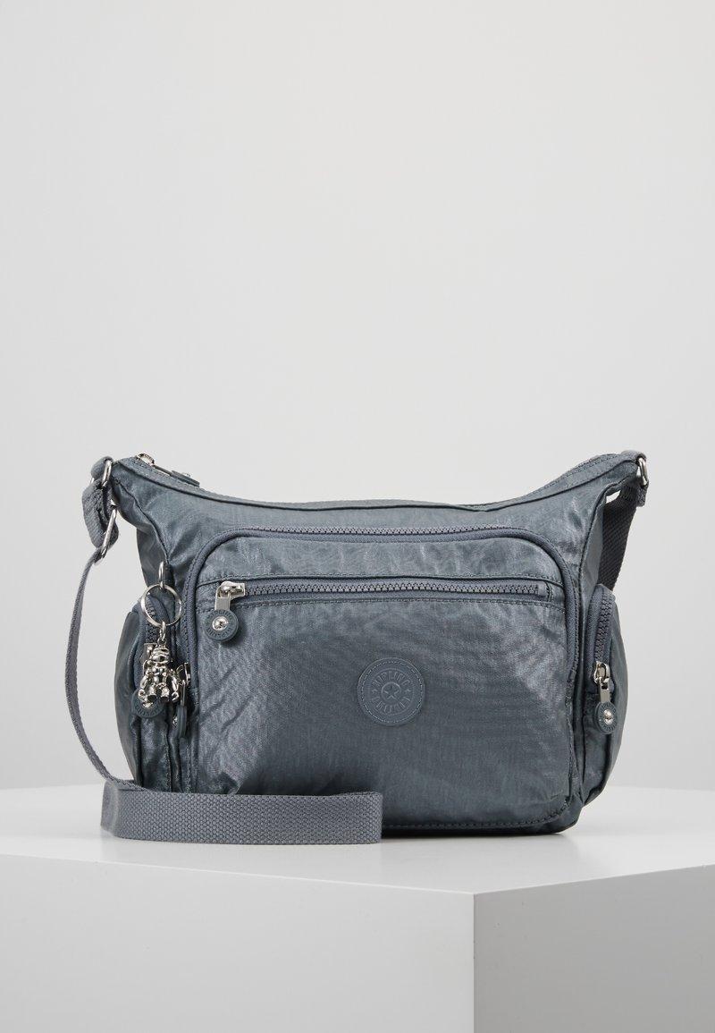 Kipling - GABBIE S - Across body bag - steel grey metal
