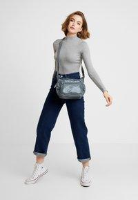 Kipling - GABBIE S - Across body bag - steel grey metal - 1