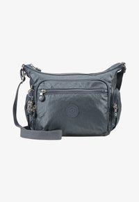 Kipling - GABBIE S - Across body bag - steel grey metal - 5