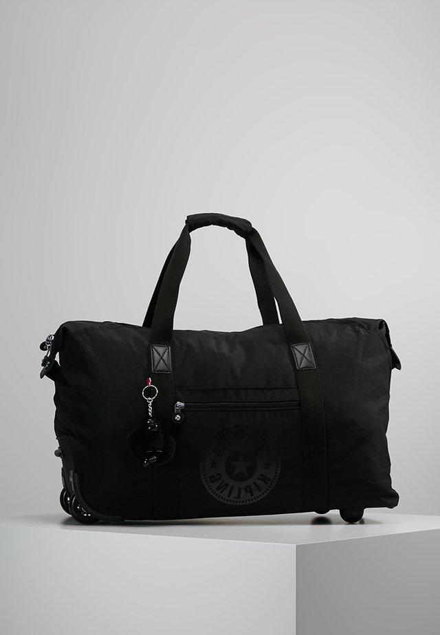 ART ON WHEELS M - Holdall - black limited