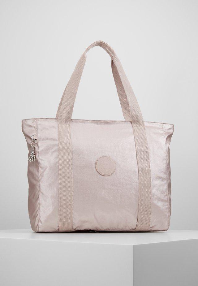ASSENI - Shopping Bag - metallic rose