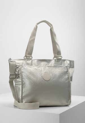 NEW SHOPPER S - Handbag - cloud metal