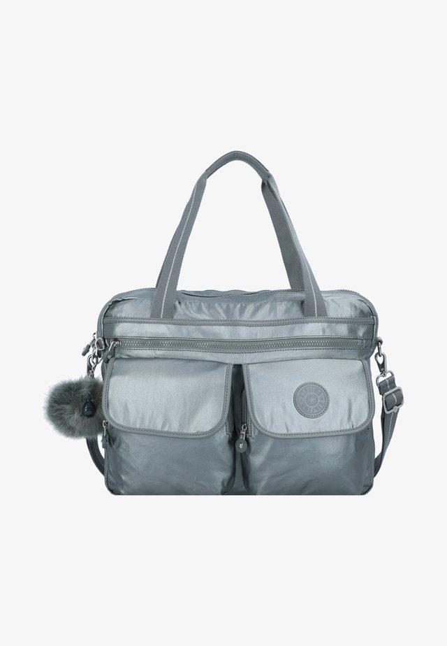 BASIC PLUS MARIC  - Laptop bag - metallic stony
