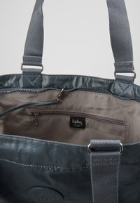 Kipling - NEW SHOPPER - Shopping bag - steel geyr metal - 4