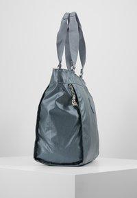 Kipling - NEW SHOPPER - Shopping bag - steel geyr metal - 3