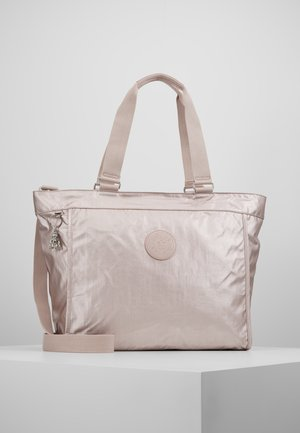 NEW SHOPPER - Tote bag - metallic rose