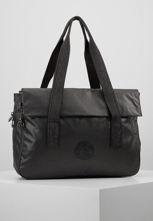 PERLANI - Laptop bag - black metallic