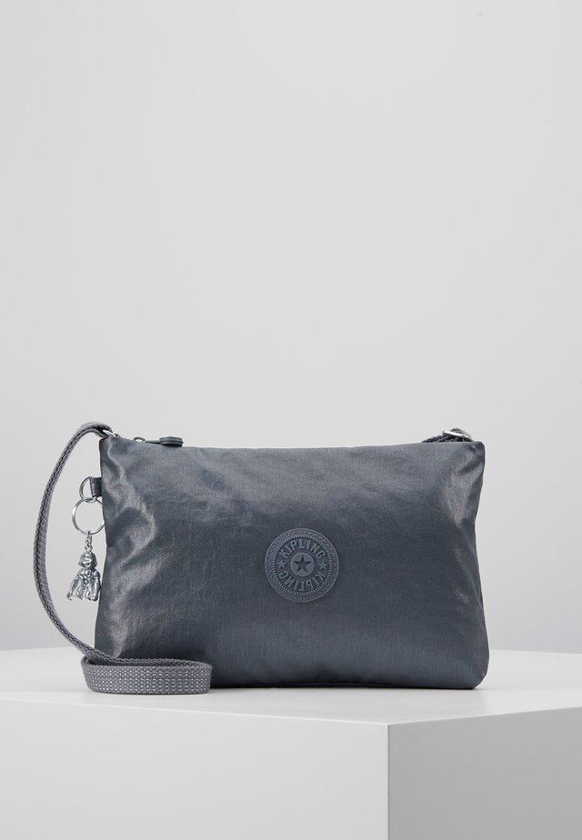 ATLEZ DUO - Across body bag - steel grey gift
