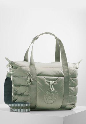 PUFF ART - Tote bag - mountain grey