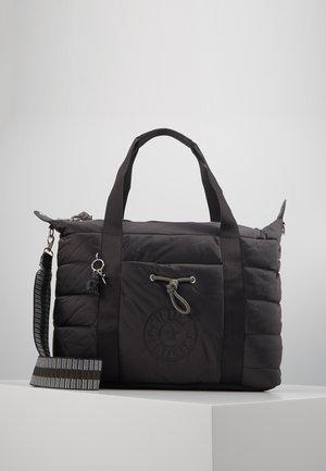 PUFF ART - Velká kabelka - cold black