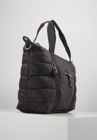 Kipling - PUFF ART - Tote bag - cold black - 3