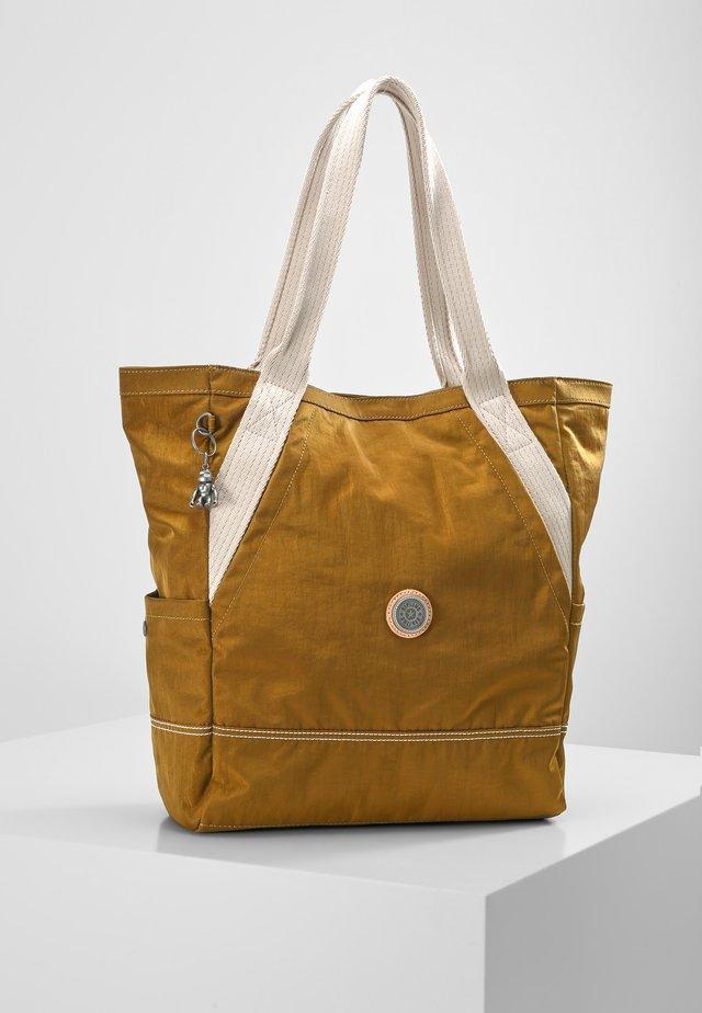 ALMATO - Tote bag - mustard green