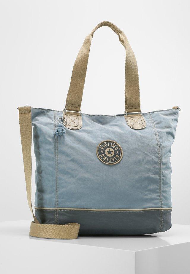 Shopper - stone blue