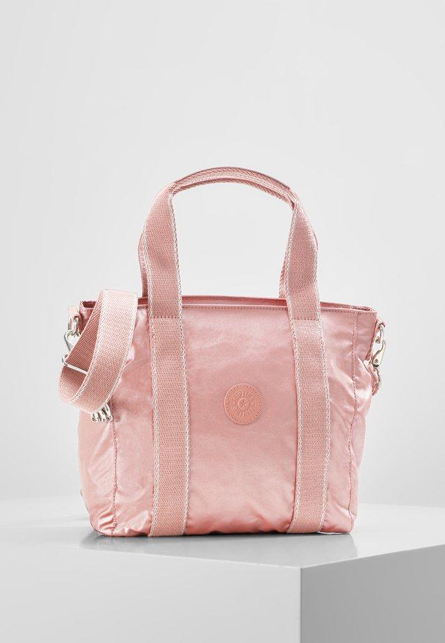 ASSENI - Shopping Bag - metallic rust