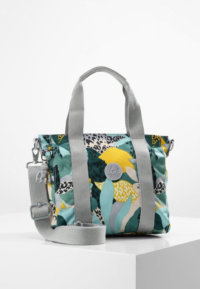 ASSENI MINI - Bolso shopping - green