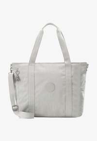 Kipling - ASSENI - Bolso shopping - grey beige - 6