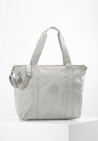 Kipling - ASSENI - Bolso shopping - grey beige - 0