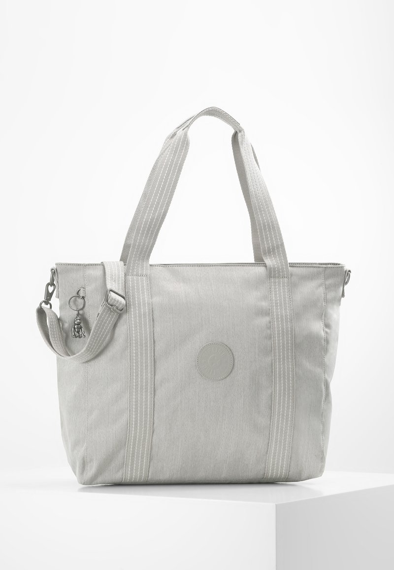 Kipling - ASSENI - Bolso shopping - grey beige