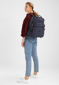 Kipling - SEOUL GO  - Rugzak - true jeans - 1