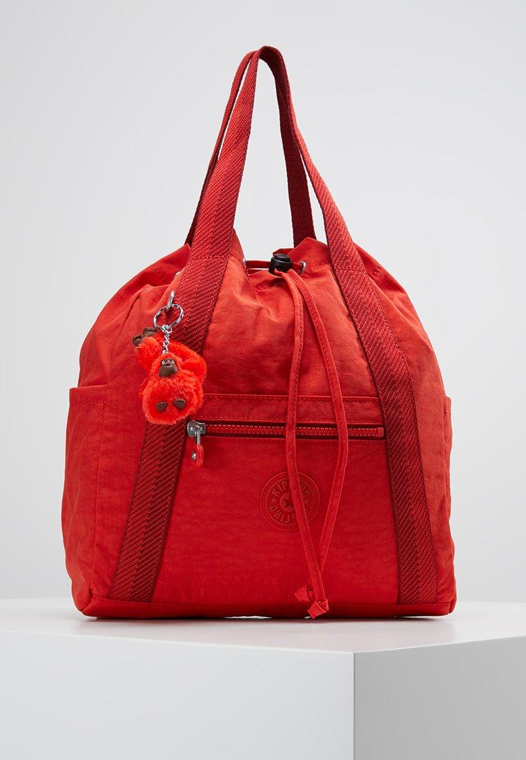 Kipling - ART BACKPACK S - Reppu - active red