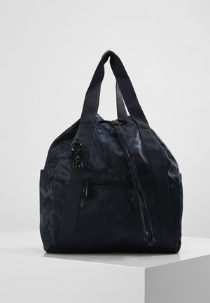 ART BACKPACK S - Rygsække - satin camo blue
