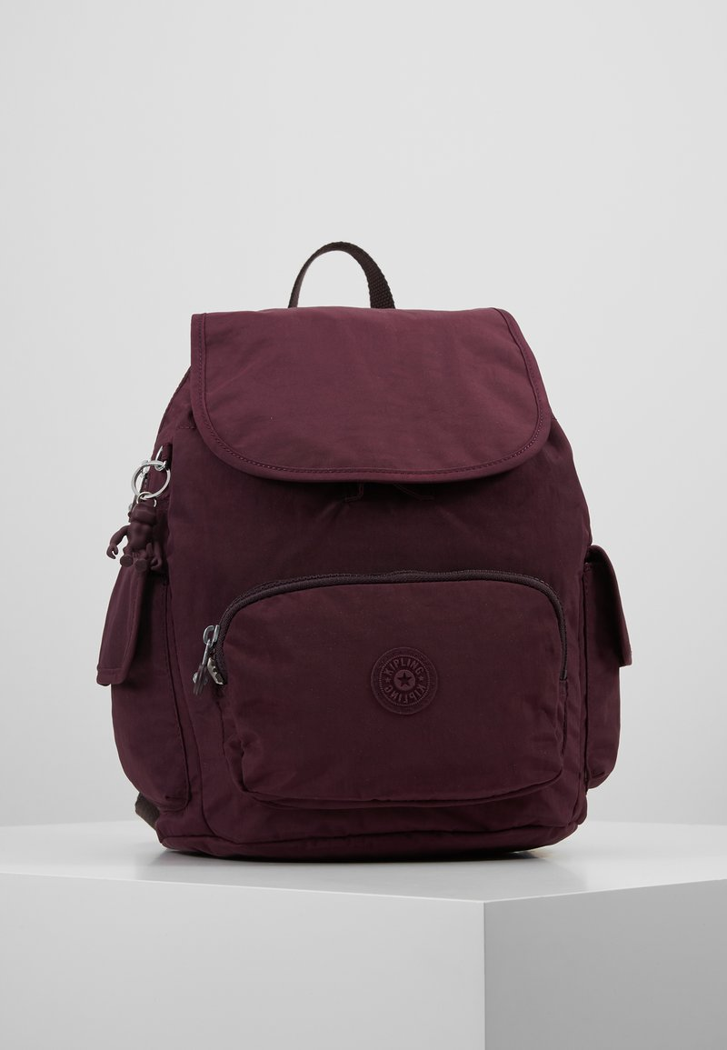 Kipling - CITY PACK - Plecak - dark plum