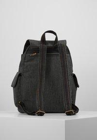 Kipling - CITY PACK - Reppu - black indigo - 2