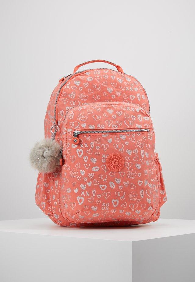 SEOUL GO - Mochila escolar - hearty pink mett