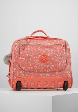 CLAS DALLIN - Schooltas - hearty pink mett