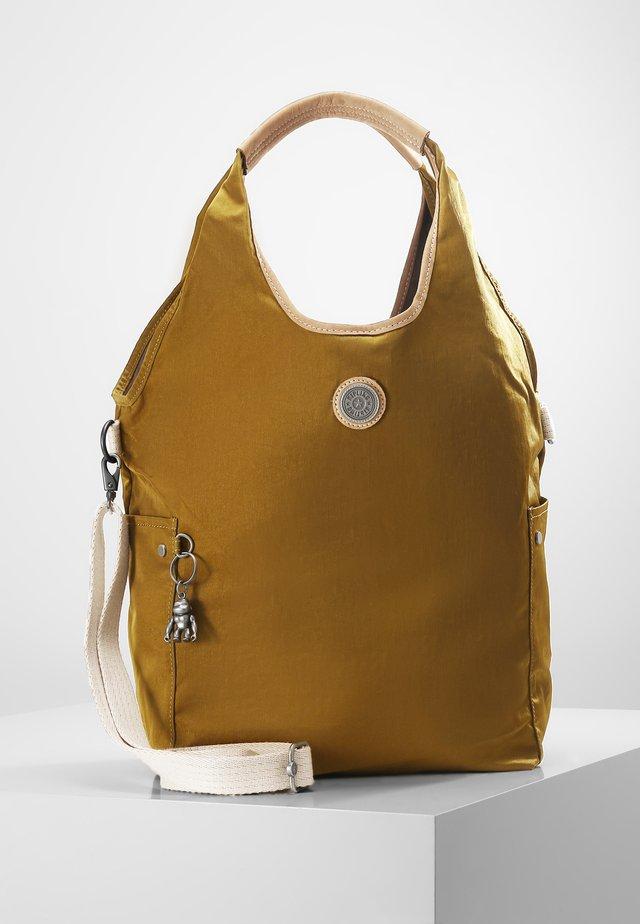URBANA - Handbag - mustard green