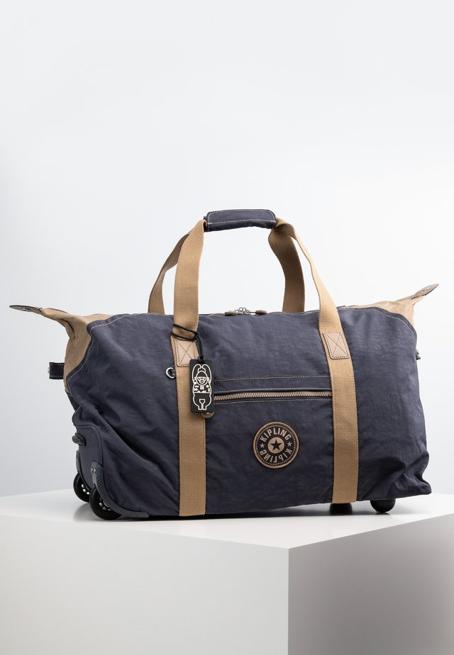 ART ON WHEELS M - Rejsetasker - night grey bl