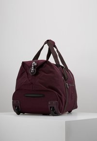Kipling - ART ON WHEELS  - Holdall - dark plum - 3