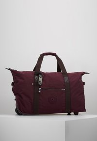 Kipling - ART ON WHEELS  - Holdall - dark plum - 5