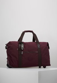 Kipling - ART ON WHEELS  - Holdall - dark plum - 0