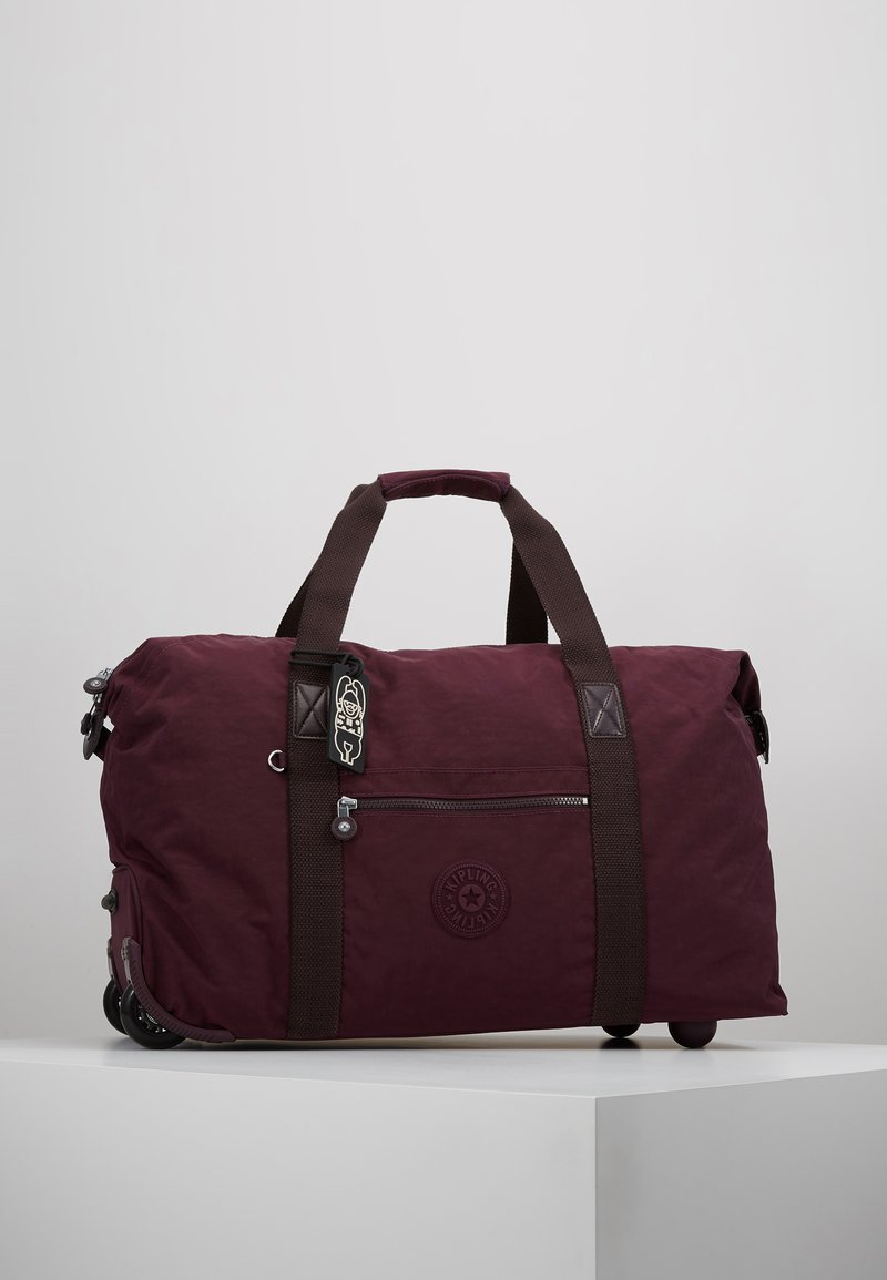 Kipling - ART ON WHEELS  - Holdall - dark plum