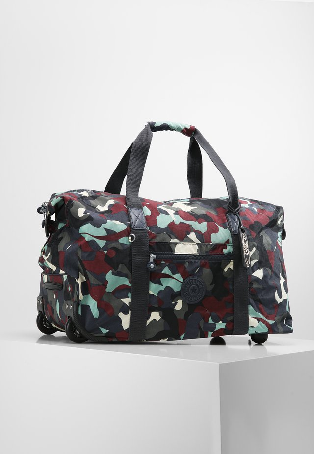 ART ON WHEELS M - Rejsetasker - camo l
