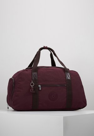PALERMO - Weekend bag - dark plum